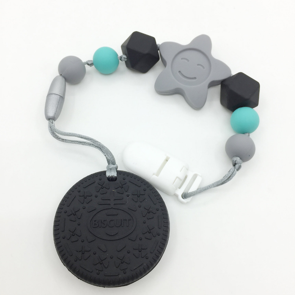 new-wholesale-detachable-fontb2-b-font-in-1-silicone-teething-pacifier-clip-with-large-biscuits-pend