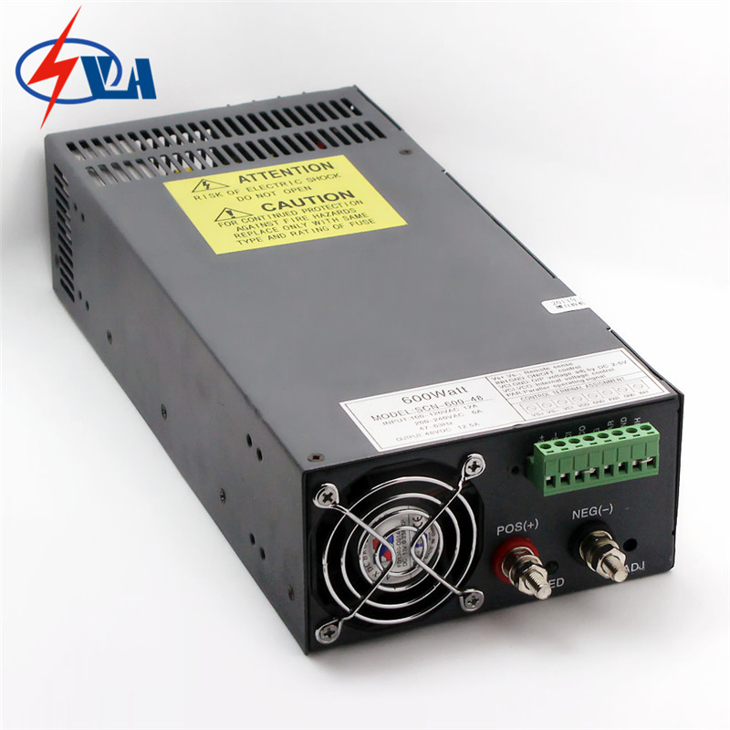 SCN 600 12V PFC function ac to dc Non waterproof power converter 12V ...