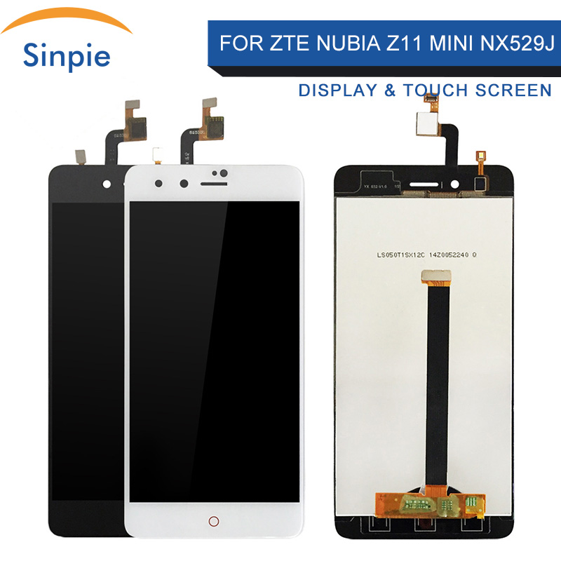 Sinpie 100%Tested Working For <font><b>ZTE</b></font> <font><b>Nubia</b></font> <font><b>Z11</b></font> <font><b>Mini</b></font> NX529J LCD Display <font><b>Touch</b></font> <font><b>Screen</b></font> Digitizer Spare Parts Free Tools image