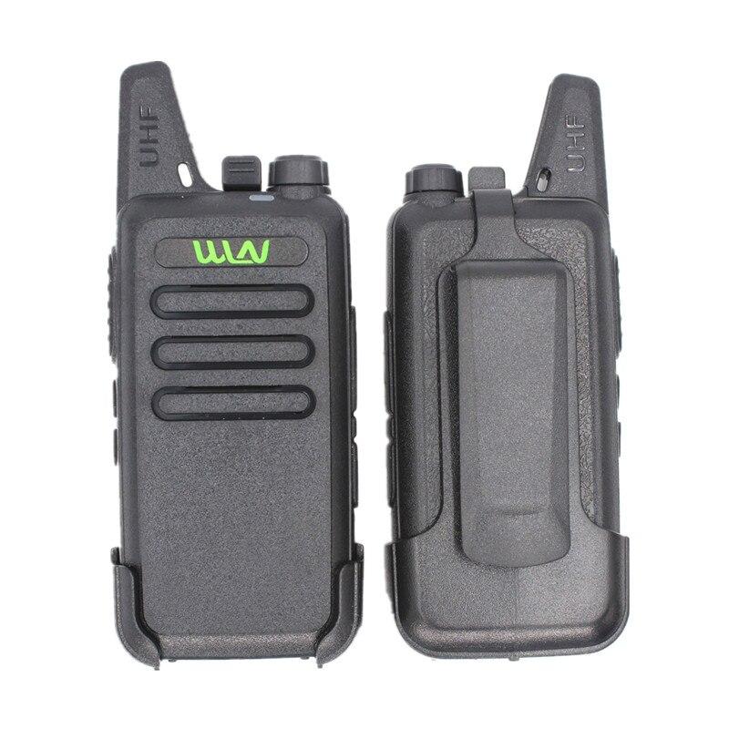 100% WLN KD-C1 Walkie Talkie KD-C2 KAILI Two Way Radio 5 W Hohe Qualität Ultra-Dünne Mini USB Ladegerät tragbare Radio KDC1 KDC2