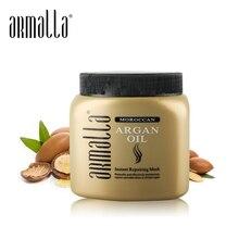 Высокая Класс волос маска для поврежденных волос Armalla марокканского масла мгновение восстанавливающая маска для волос увлажняющая лечения