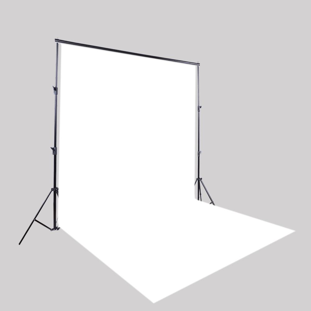 White Photo Background HUAYI Vinyl Plastic Photography Backdrop For Photo Studio Pictures Or Home DIY-1