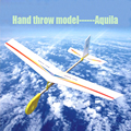 Free Shipping Aquila Hand throw model Eagle Glider airplane model DIY plane model Assembling Toys puzzle children gift