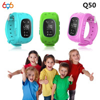 Children GPS Kids Smart Watch Wristwatch G36 Q50 GSM GPRS GPS Locator Tracker Anti Lost Smartwatch Child Guard for iOS Android