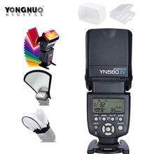 YONGNUO yn560iv YN560 IV YN 560 Вспышка Speedlite 1/200 s-1/20000 S Звуковой индикатор для canon Nikon Olympus Pentax Беспроводной