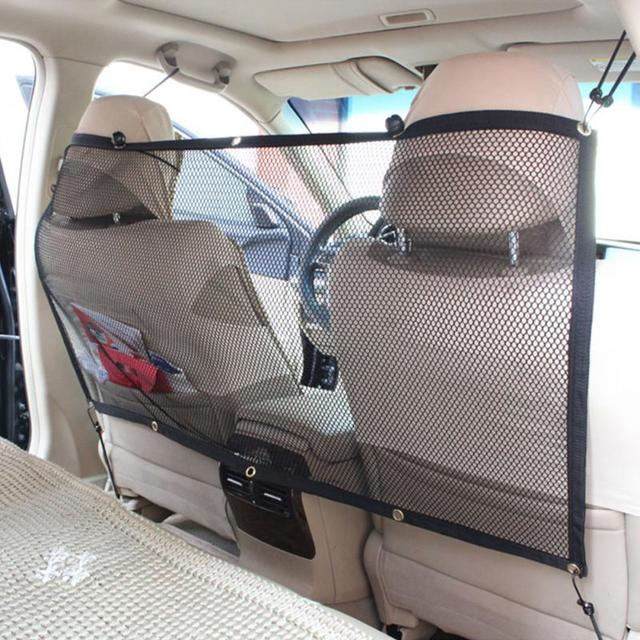 Auto Vehicle SUV Vans Car Hook Hanging Mesh to Keep Dog and Dog Hair ...