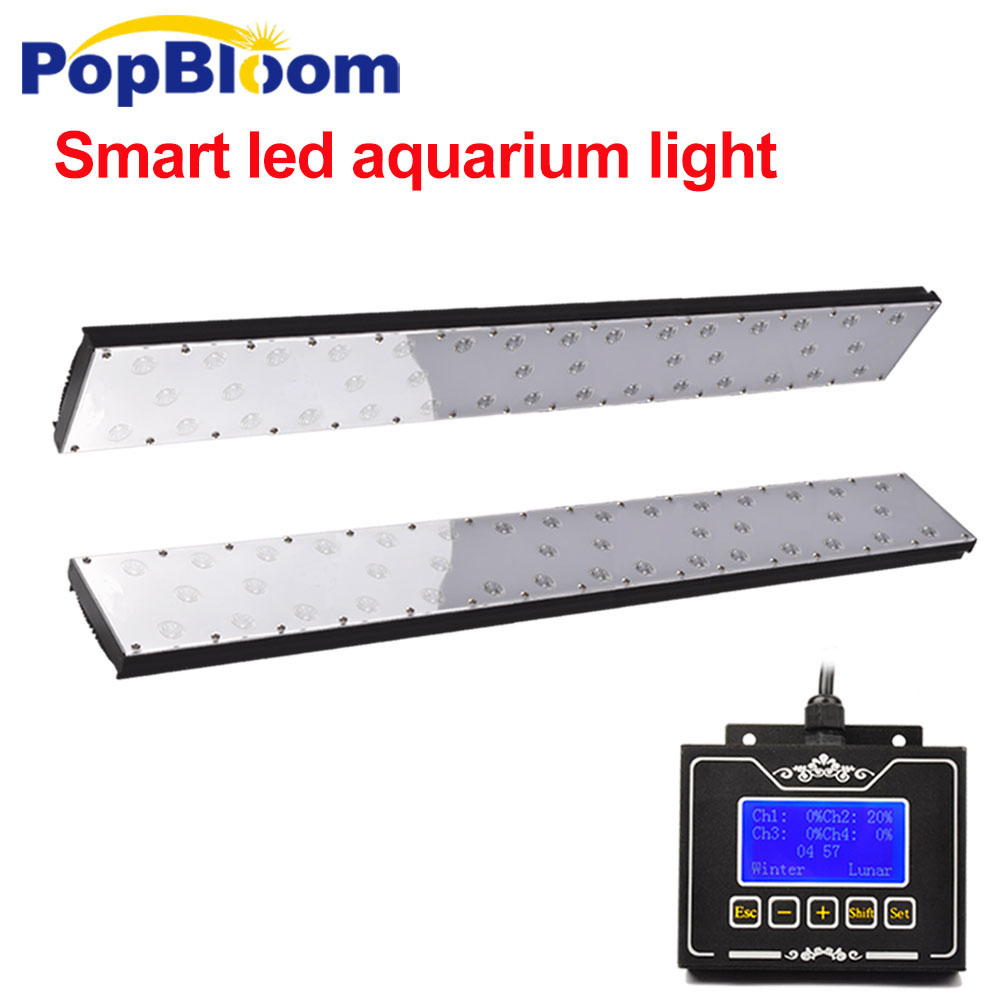 PopBloom led fish tank lighting led for aquarium fish tank lamp for marine tank light with
