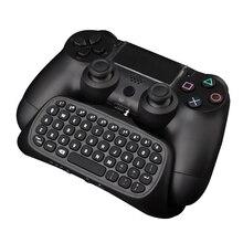 Bluetooth Mini USB Беспроводной Chatpad Сообщение Контроллер 2.4 Г Беспроводной chatpad Клавиатура для Playstation 4 gamig game pad для ps4