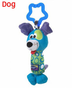Image 4 - Kids Baby Lovely Soft Animal Handbell Rattles Handle Stroller Development Toy Baby Rattles Bed Bell Stroller Toys