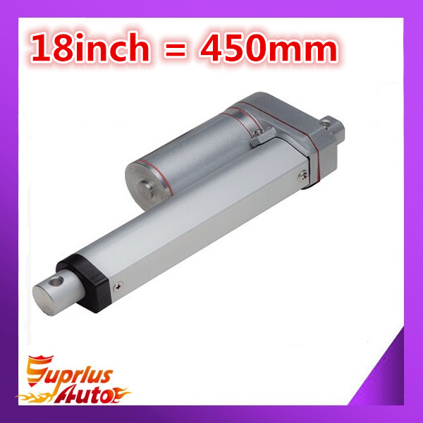 18inch/ 450mm Stroke electric linear actuator with 90kgs/ 900N/ 198lbs load 12v linear actuator наволочки other 45 45 18inch