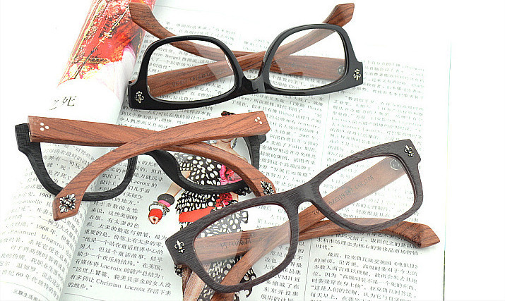 b2e6617752d Chashma Top Quality Glasses Hand Made Real Wood Frame Brand Designer ...