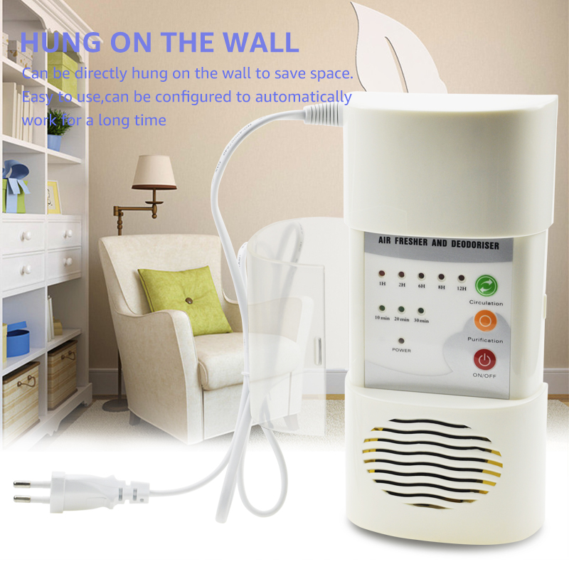 Image 5 - ANIMORE Air Ozonizer Air Purifier Home Deodorizer Ozone Ionizer Generator Sterilization Germicidal Filter Disinfection CleanRoom-in Air Purifiers from Home Appliances