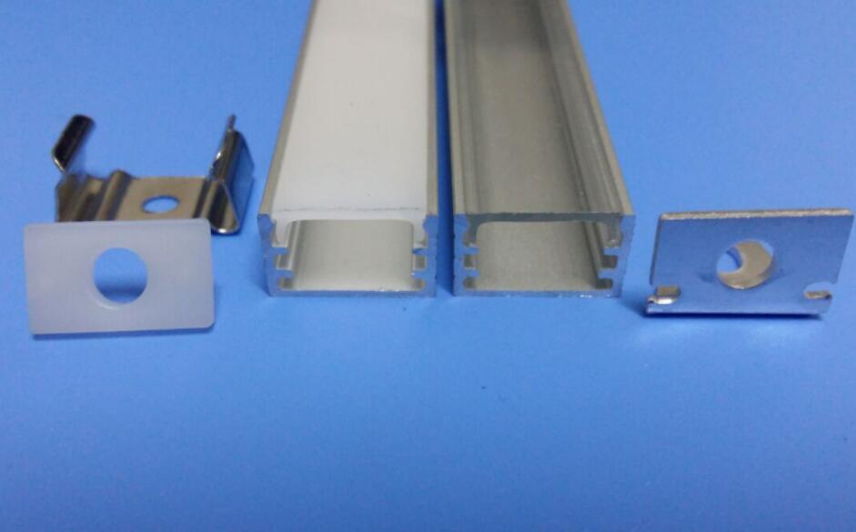 Free Shipping Super Slim Linear Led Strip Light Aluminum Recessed Profile Extrusion For Furniture 2m/pcs 40m/lot