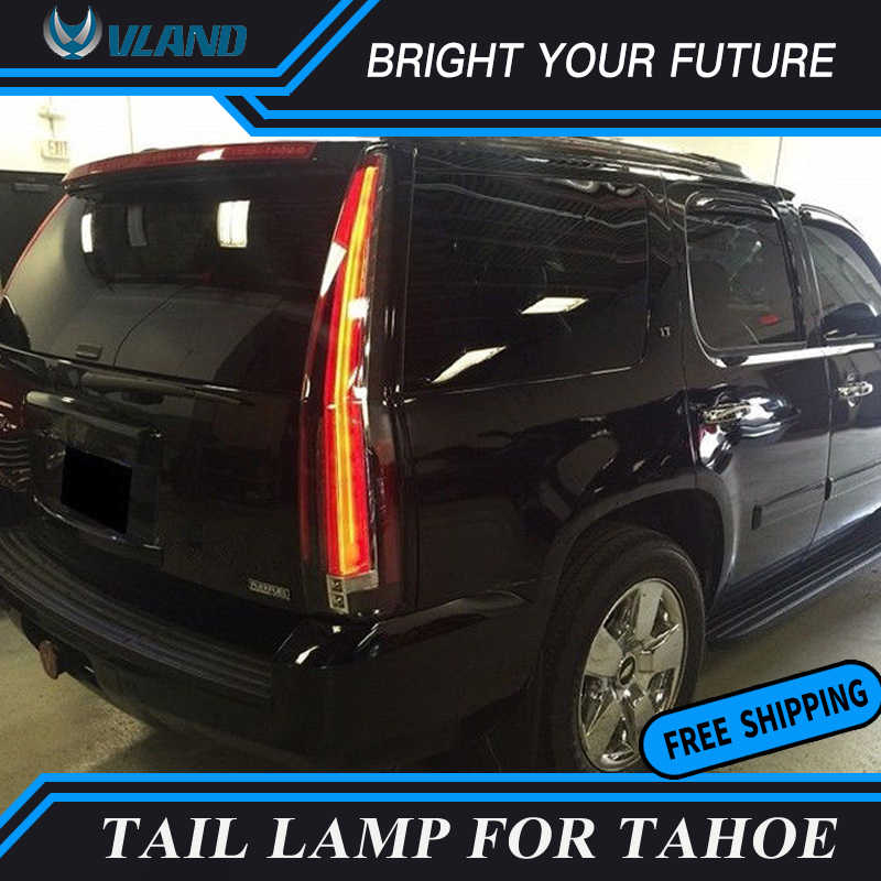 Car Led Tail Lights Rear For 2007 2017 Chevy Tahoe Suburban Gmc Yukon