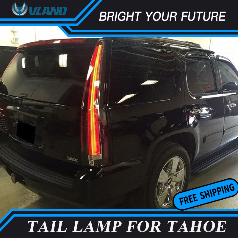 Car Led Tail Lights Rear For 2007 2017 Chevy Tahoe Suburban Gmc Yukon Lamp Brake Cadillac Escalade Style In Light Embly From Automobiles