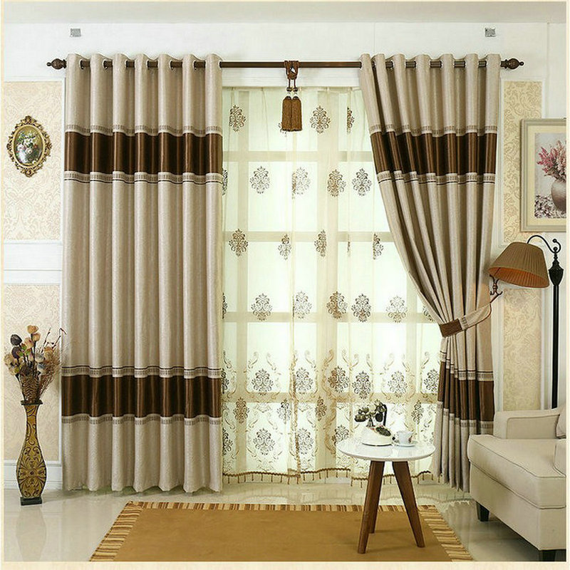 Online get cheap blackout window drapes alibaba group - Latest curtain designs for windows ...