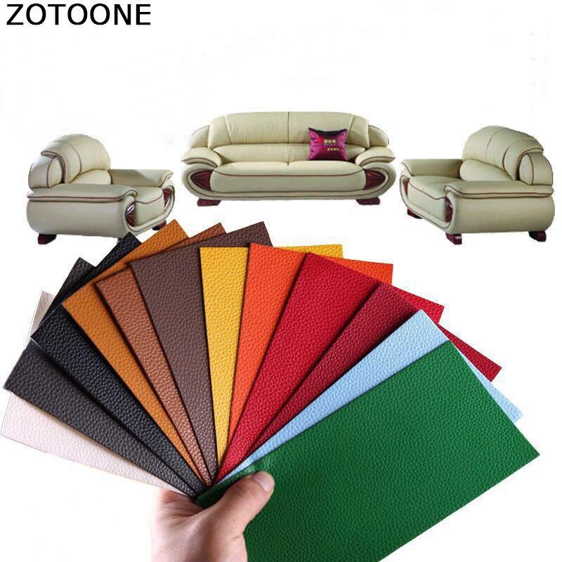 Самоклеящаяся искусственная кожа ZOTOONE, ремонт кожаного дивана, автомобильного сиденья, кровати