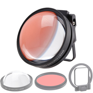 Image 3 - CAENBOO Action Camera Lens Filters Go Pro Hero 5 6 7 Super Macro 24X Close Up Red Diving Underwater For GoPro Hero5/6/2018 Black