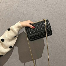 Women European Female Square Bag 2019 PU Leather Women's Designer Handbag Chain Shoulder Messenger Bags Handbag цена в Москве и Питере