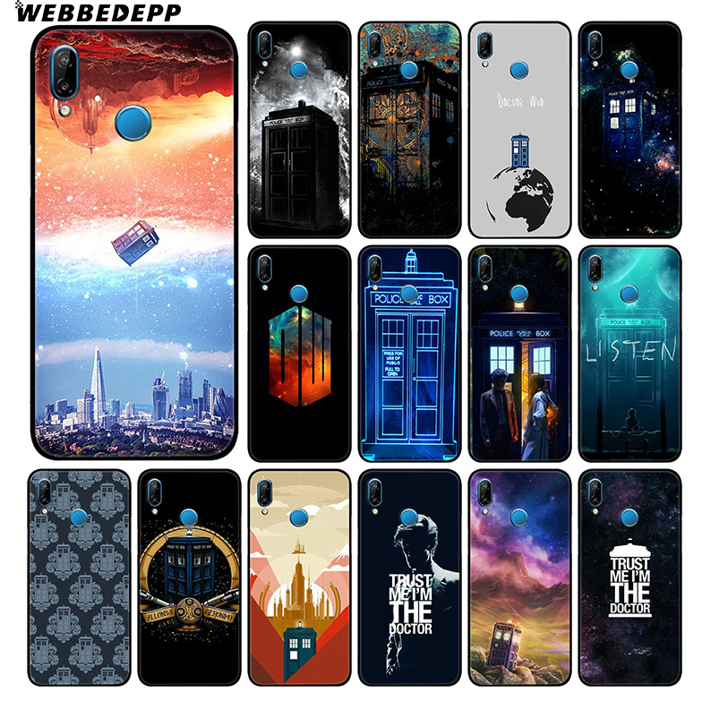 Cellphones & Telecommunications Webbedepp Box Doctor Who Soft Silicone Case For Huawei Honor Mate 20 10 8x 8c 8 6a 7a 7x 7c Lite Pro Tpu Phone Bags & Cases