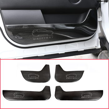 For Land Rover Discovery Sport 2015-2018 304 Stainless Steel Interior Door Protection Panel Cover Trim 4Pcs