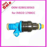 Conjunto de 4 novo PARA A alta performance de 1700cc injetor de combustível 0280150563 0 280 150 563 para OPEL 9270291 para IVECO 8036314