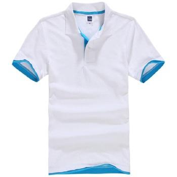 Męskie koszulki Polo bawełniane letnie koszulki Polo z krótkim rękawem markowe koszulki Polo krótkie bluzki męskie camisa masculina Blusas topy tanie i dobre opinie Asstseries REGULAR Na co dzień Przycisk Stałe COTTON Oddychające 65 cotton + 35 polyester Spring Summer Autumn