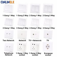 Luxury Wall Switch European Socket Lvory White Brief Art Weave Light Switch AC 110~250V 16A 86mm*86mm(China)