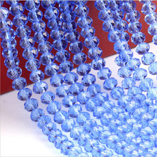 4mm 6mm 8mm 10mm Light Sapphire Garment Accessories Sewing Fascinating Sewing On Glass beads for jewelry making