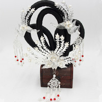 chinese ancient dynasty princess hair accessories vintage hair accessories fairy cosplay queen accessories