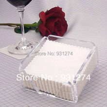 Square Acrylic Tablet Of Napkin Paper Holder For Sheet Paper