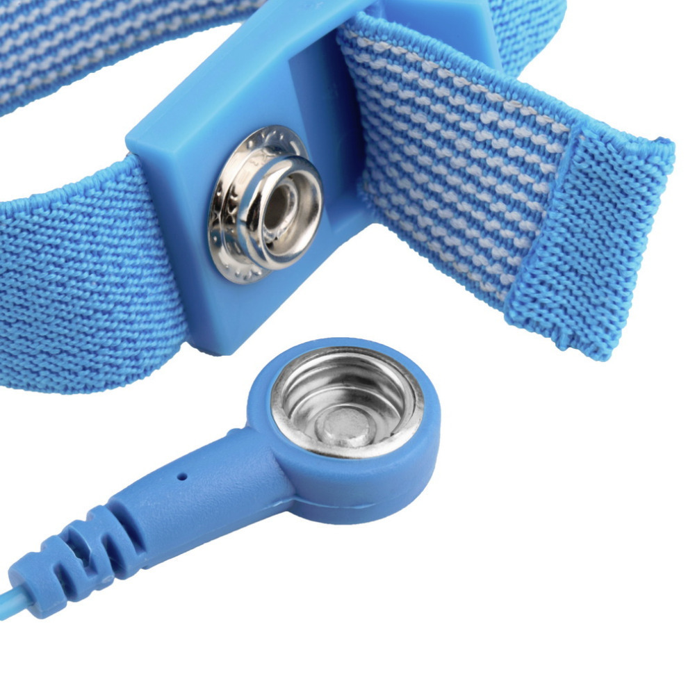 Back To Search Resultstools Power Tool Accessories Kind-Hearted Free Shipping Anti Static Anti-skid Esd Adjustable Discharge Wrist Strap Band Grounding Bright In Colour