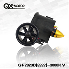 QX_MOTOR Brand DIY Airplane Model Parts Whole EDF 70mm Duct Fan+3000kv Motor Spindle-4mm Motor for Jet RC EDF Wholesale