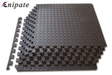 Enipate 1 PC Coffee Interlocking EVA Soft Foam Exercise Floor Mats Rug Children Play Mats Gym Garage House Office Mat 30*30*1cm(China)