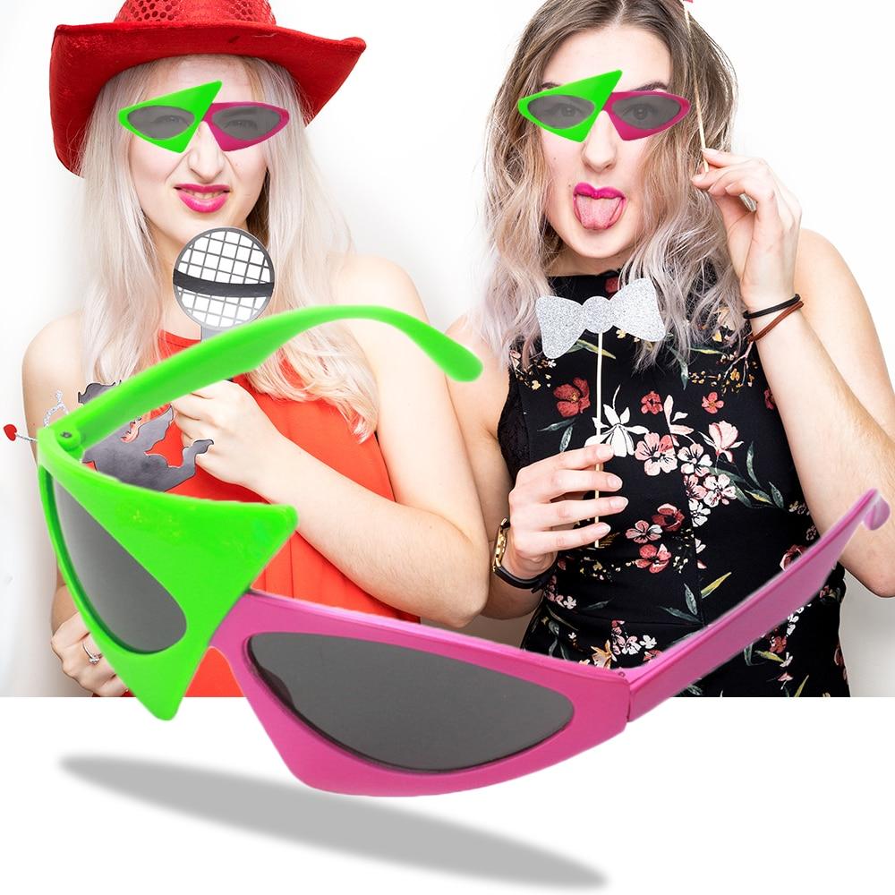 30psc/lot 재미 있은 로이 purdy 안경 크리스마스 파티 마스크 음악 축제 힙합 안경 파티 용품 장식-에서파티 마스크부터 홈 & 가든 의  그룹 1