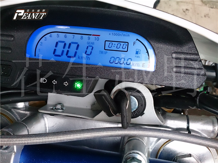 125cc 150cc 200cc 250cc CQR T4 MX6 Motorcycle jialing accessories Odometer Speedometer digital LED screem speedo meter