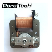 2pcs Lot Microwave Fan Motor For Midea MDT 10CEF 220V 18W 2 Pin Replacement Parts Microwave