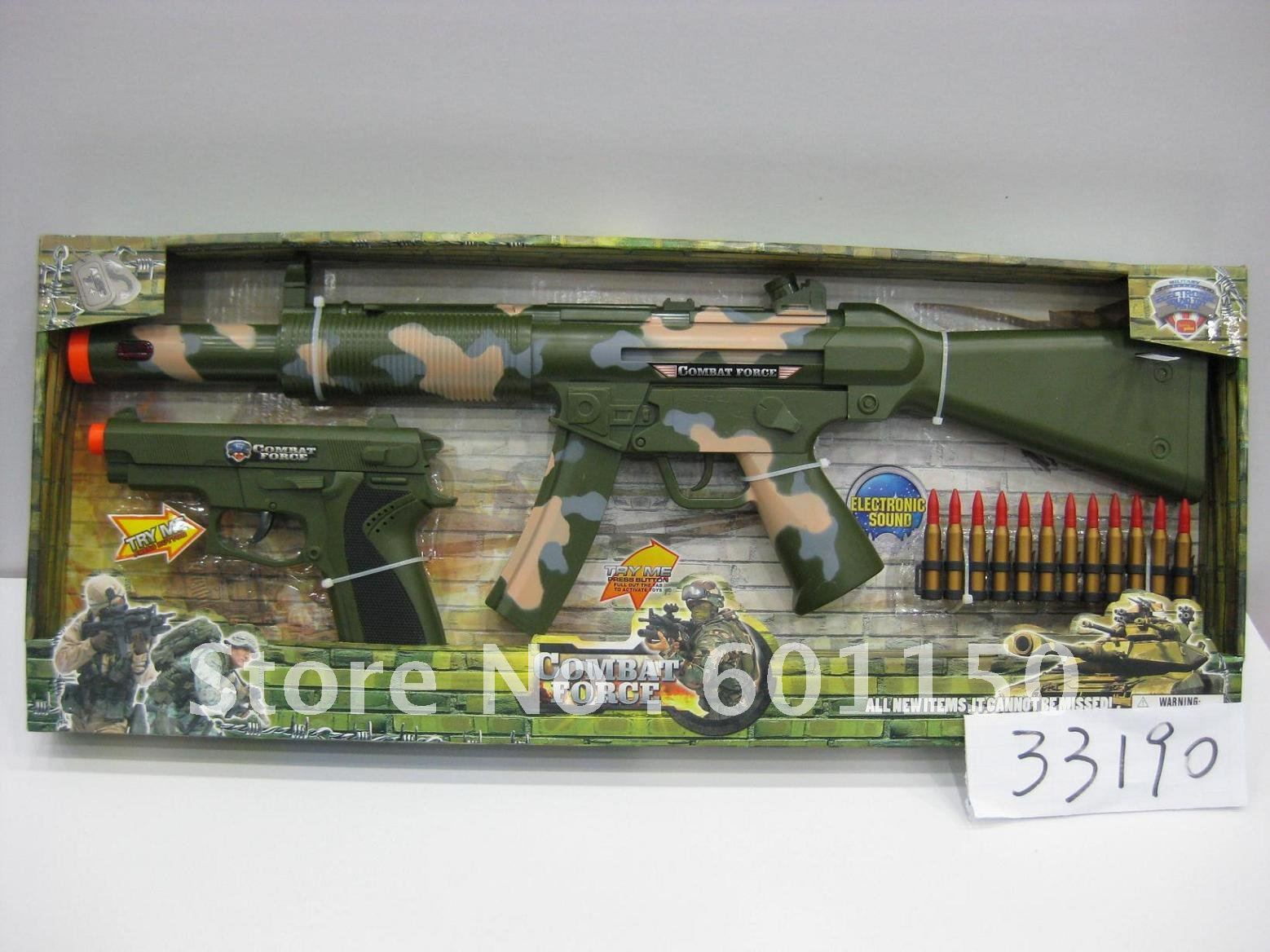 2012 Combat Force Electronic Sound Toy Toy With Small Gun -8899
