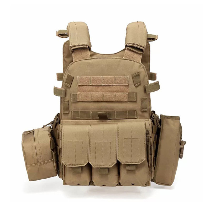Multi-functional Tactical Vest Molle Plate Carrier Military Hunting Vest Paintball Combat Vest