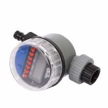 Automatic Electronic Lcd Display Home Ball Valve Water Timer Garden Watering Irrigation Controller System