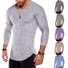 481175a4 Hot Sale Men'S T-Shirts Striped Tee Shirt Homme Summer Oversized Arc Hem  Long T