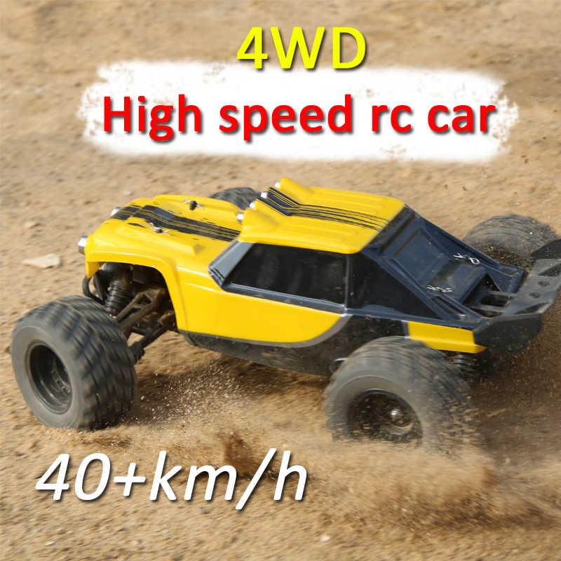 4WD высокая скорость rc racing 2,4 г 40 км/ч 1:12 дистанционное управление внедорожник rc гусеничный привод восхождения RC игрушки, светодиодные лампы авто дистанционный автомобиль 12891