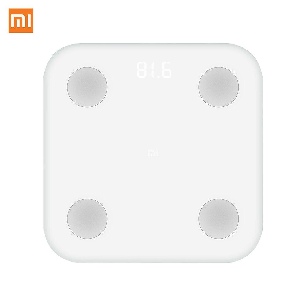 Neue Ankunft Original Xiaomi Digitalwaage Smart Körperfettwaage Waage über APP Digitale Verwalten Ihre Gesunde und Gewicht