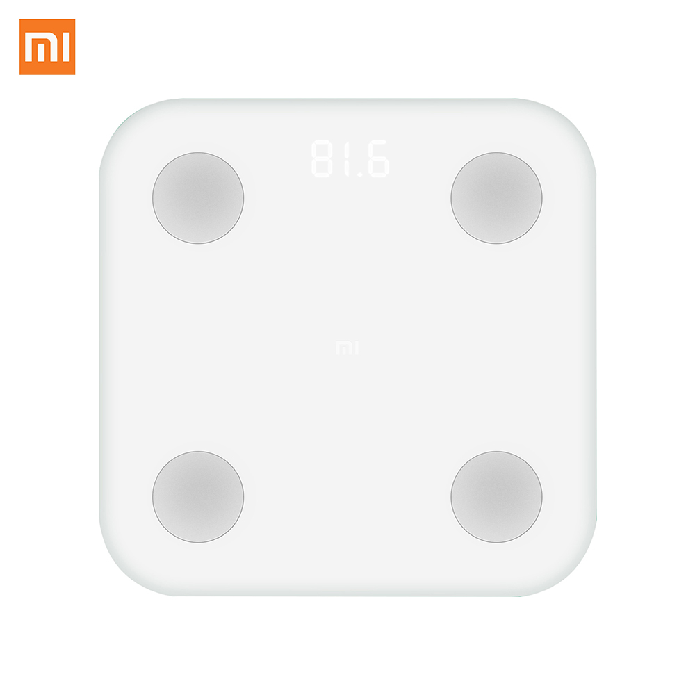 New Arrival Original Xiaomi Digital Scale Smart Body Fat Scale Weighing Scale via APP Digital Manage Your Healthy and Weight y9000 smart body fat scale digital bathroom scale
