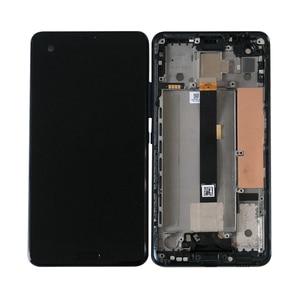 "Image 4 - 5.7 ""Originele M & Sen Voor Htc U Ultra Lcd scherm + Touch Panel Digitizer Frame Voor Htc U Ultra Lcd Display"