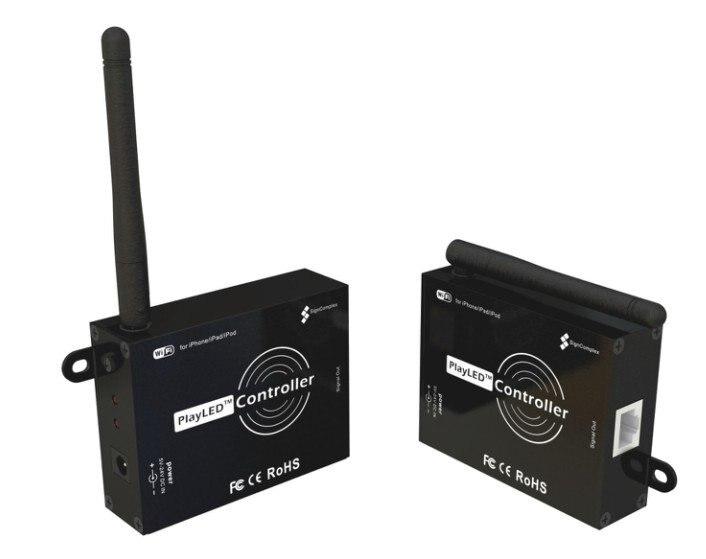 ᐂControlador WiFi LED; puede utilizar por iPhone o iPod controlador ...