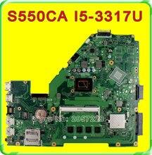 Original A550C A550CA R510C X550CA motherboard For Asus X550CC REV2.0 Mainboard I5-3317 Processor HD Graphics 4400 100% Tested