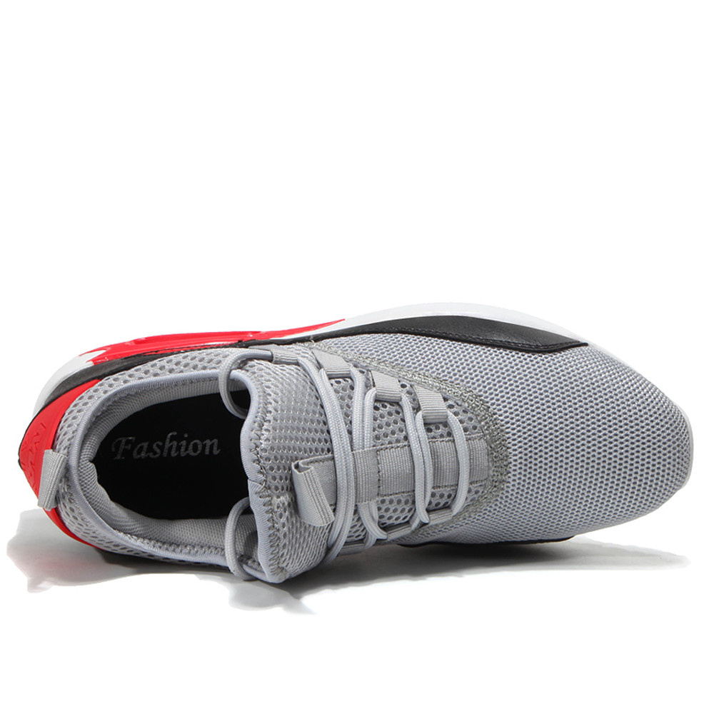 Casual mens fashion lace running shoes flat shoes wear mesh breathable cushioning sports shoes basketball shoes sneakerCasual mens fashion lace running shoes flat shoes wear mesh breathable cushioning sports shoes basketball shoes sneaker