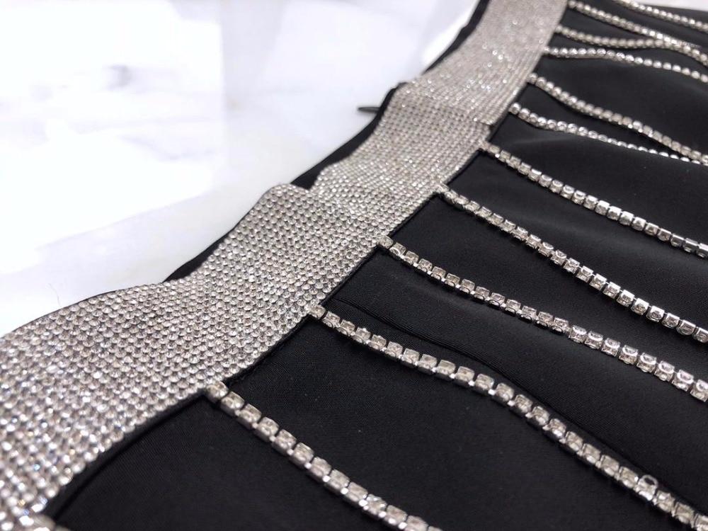 Printemps A ligne 2 1 2019 Couleur Gland Jupe 16 De Rmsx Mode Femmes Diamants Twgdw4