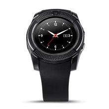 Günstige preis neue Bluetooth smart watch V8 touchscreen kreis anzeige smartwatch wasserdicht